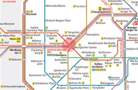 Zoologischer Garten Berlin Subway by Zoologischer Garten Station Map Berlin S Bahn U Bahn