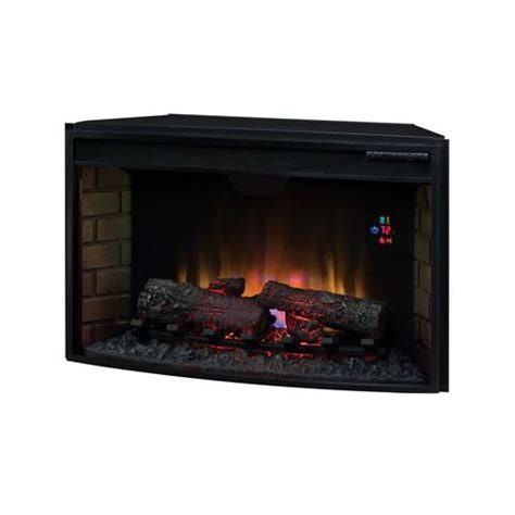 classic curved front 32 inch electric fireplace