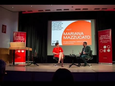 Mariana Mazzucato The Value Of Everything Making And