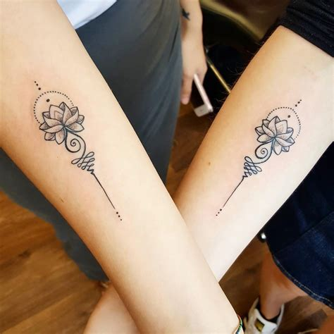 small matching tattoos for sisters mine and my s matching tattoos by syluss songbird