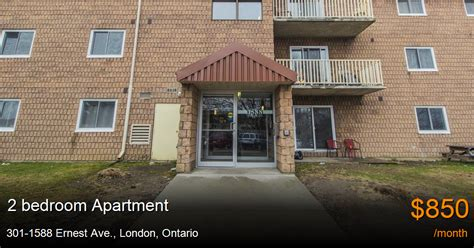 2 bedroom apartments london ontario 301 1588 ernest ave london apartment for rent b36669