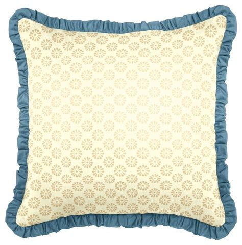 Blue And Gold Throw Pillows Blue Gold Throw Pillow Eclectic Decorative Pillows