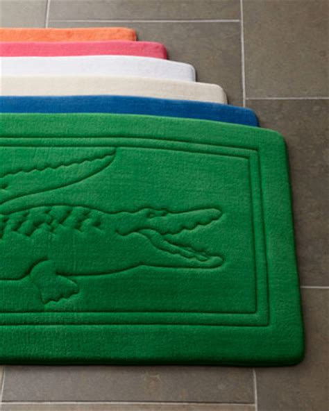 lacoste bath rug modern bath mats by neiman marcus