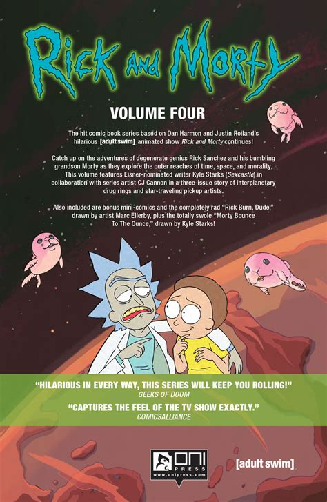 rick and morty volume 4 comiclist preview rick and morty volume 4 tp