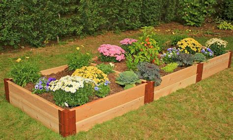 raised beds for gardening raised garden beds raised bed kits frame it all