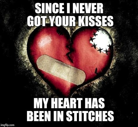 Heart Meme - broken heart imgflip