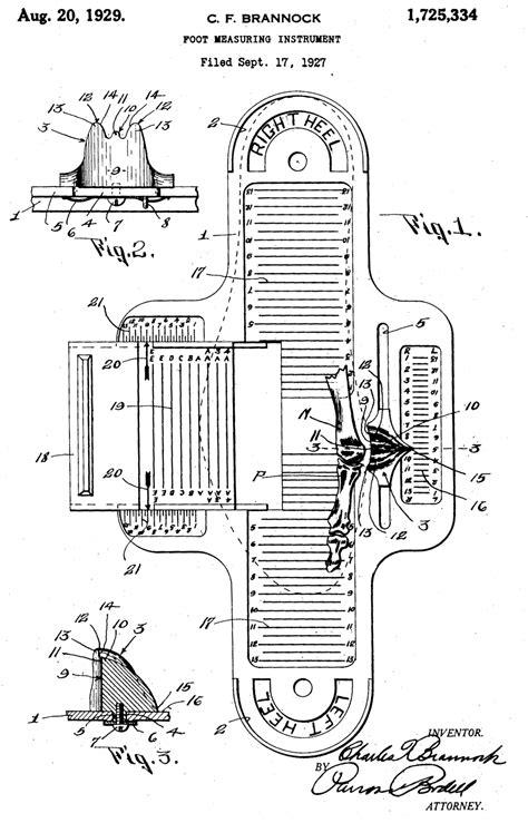 printable shoe size measurement tool brannock device wikipedia