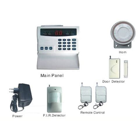alarm system homes china 32 defense zone telephone auto home alarm