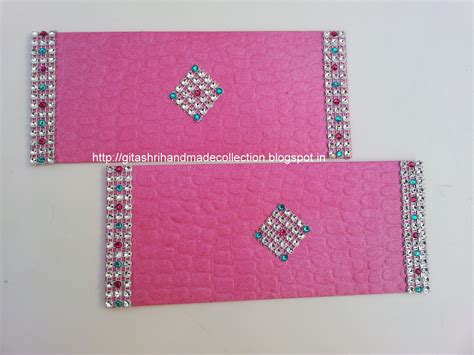 Handmade Envelope Designs - shagun envelopes designs images