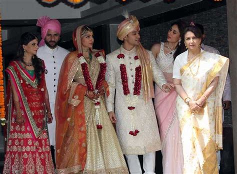 soha ali khan wedding pic soha ali khan ties the knot with kunal kemmu the indian