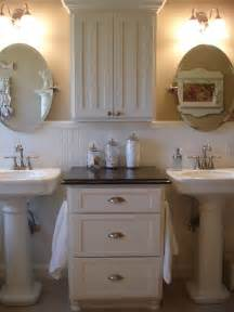 pedestal sink bathroom ideas forever decorating my master bathroom update