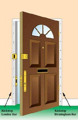 bar door frame reinforcement secure your home