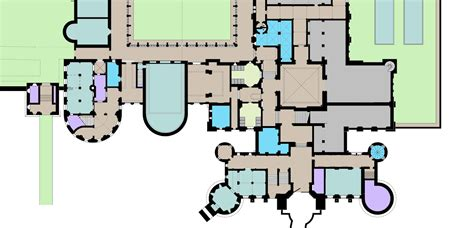 hogwarts castle floor plan hogwarts floor plan middle section wip by