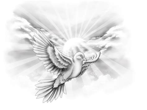 flying dove tattoo designs dove flying with clouds free designs white dove