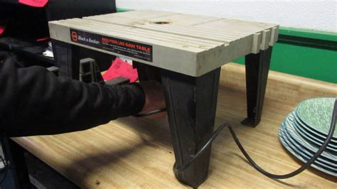 Black And Decker Router Jigsaw Table Model 76 400 Table