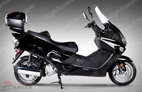 sunl sl250 22 250cc scooter moped owners manual
