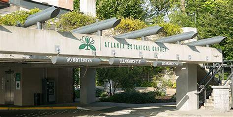 atlanta botanical gardens parking fasci garden