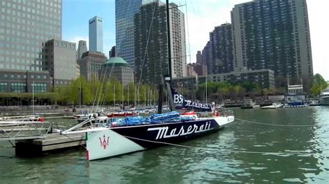 maserati nyc maserati sail boat racing yacht in nyc 2012