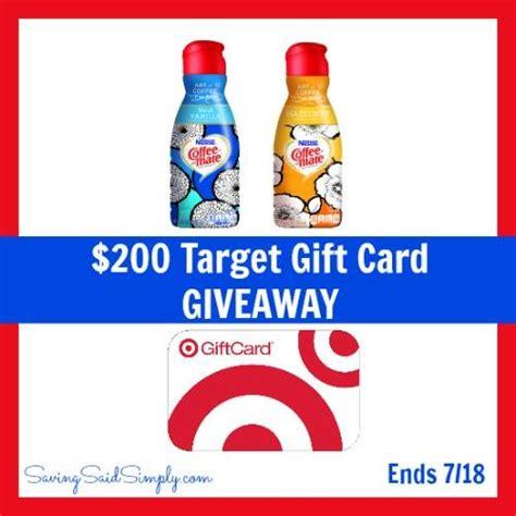 Target Giftcard Giveaway - target giftcard giveaway win 200