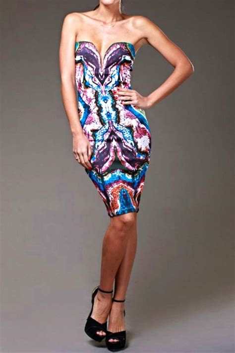 Dr02 Dress Wanita Bodycon Branded branded strapless bodycon dress from san diego shoptiques