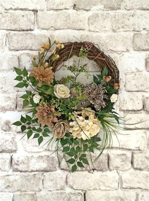 Outdoor Front Door Wreaths Burlap Summer Wreath For Door Front Door Wreath Outdoor Wreath Bur