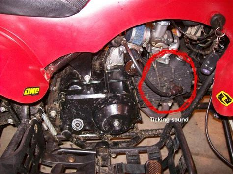 ticking sound in motorcycle engine impremedia net