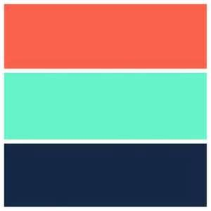 coral color scheme teal navy and coral color scheme my style