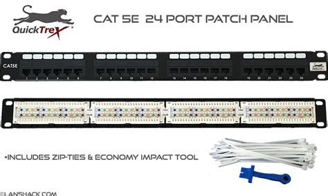 Patch Panel Cat 5e 24 Port Berkualitas patch panel 24 port patch panel cat 5 patch panel