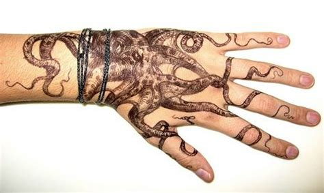 octopus hand tattoo 54 best images about octopus tattoos on