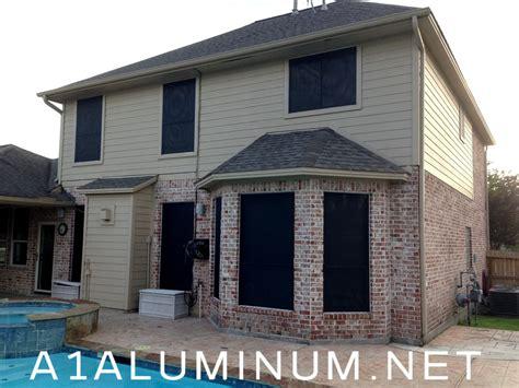 Aluminum Solar Screens - solar screens 187 a 1