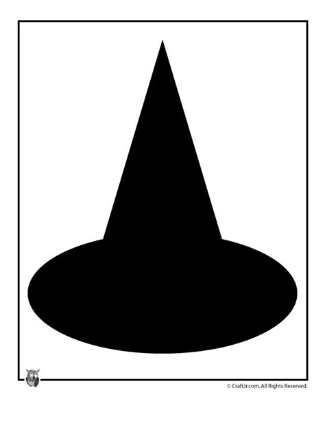 witch hat template witch hat template woo jr activities