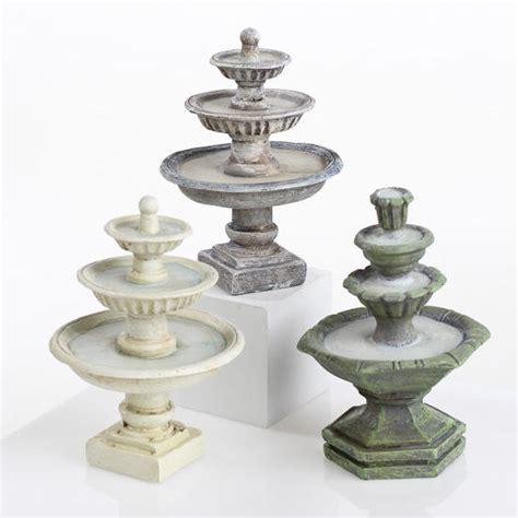 miniature water fountain fairy garden supplies