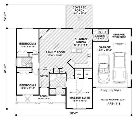 home floor plans no garage the westfield house plan i could make a few changes included no garage future home