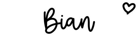 bian click baby names