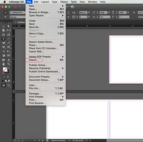 layout menu in pagemaker adobe indesign and pagemaker prestophoto