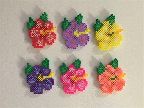 perler bead flower perler magnet perler perler magnet flower