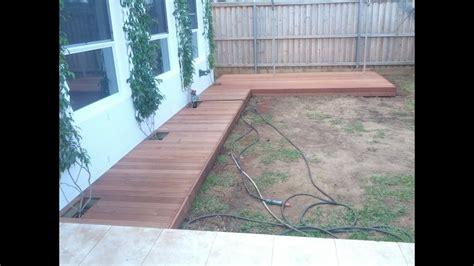 diy build  deck boardwalk youtube