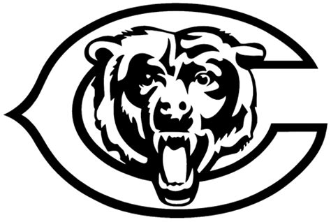 chicago bear helmet coloring pages