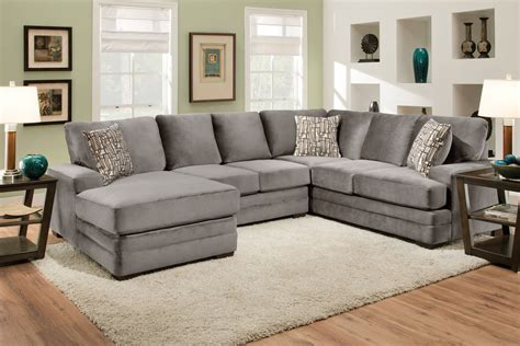 gardner white sectionals cove four piece sectional