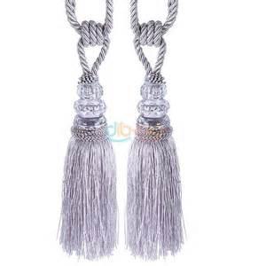 curtain tie backs tassels 2x tassel beaded tiebacks window curtain fringe