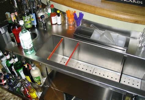 Small Mobile Kitchen Islands work station inox su misura per cocktail photo flavio