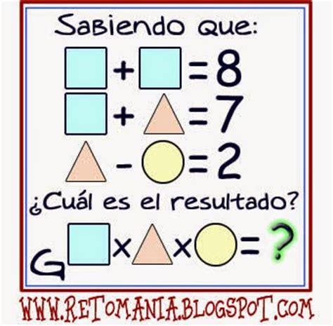 imagenes con retos matematicos reto matem 193 tico 8 grados 6 176 7 176 retos matem 193 ticos