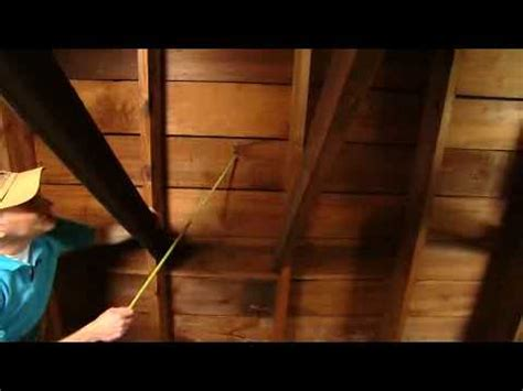 how to find a leak in the roof of your house youtube