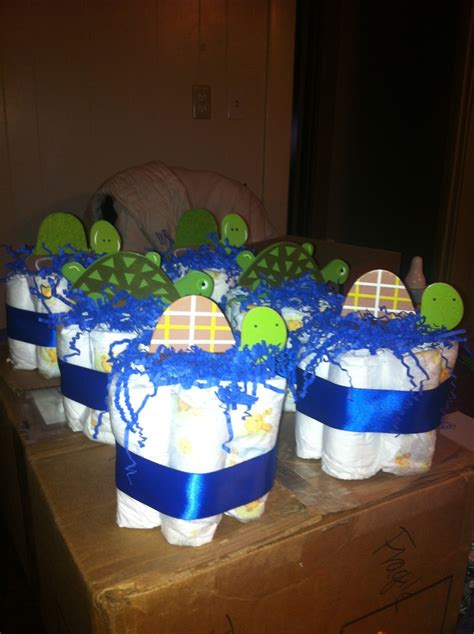Turtle Baby Shower Ideas by Turtle Baby Shower Centerpieces Baby Showers