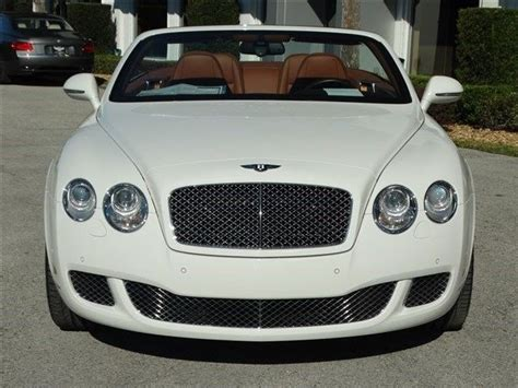 old white bentley 2011 bentley continental gtc white 200 interior and