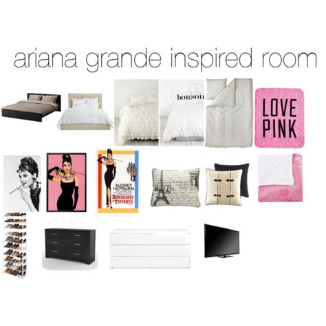 Duvet Cover Modern Ariana Grande Inspired Room Polyvore