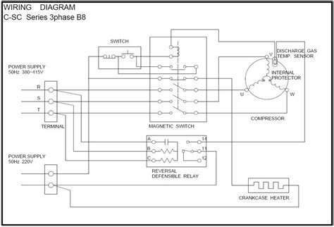 air compressor motor wiring diagram compressor free