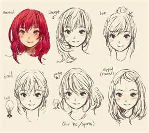 anime hairstyles anime references anime