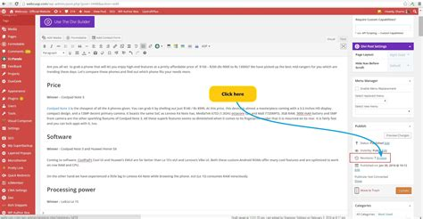 Wordpress Revisions Tutorial | solved wordpress post editor content is lost while updating