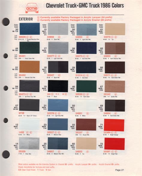 color themes sle chevy paint colors 28 images 1971 chevy paint color